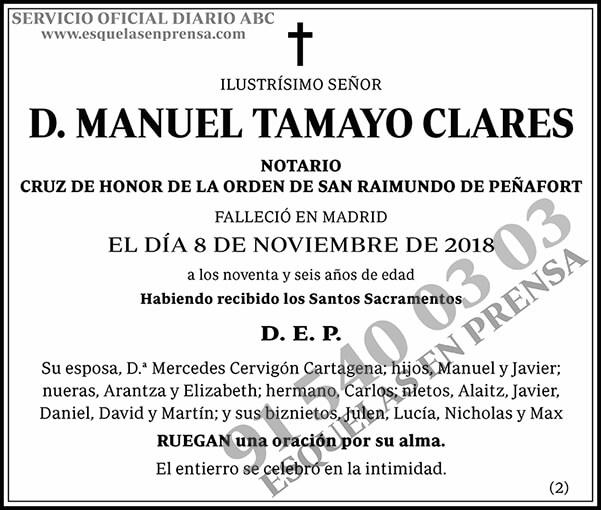 Manuel Tamayo Clares